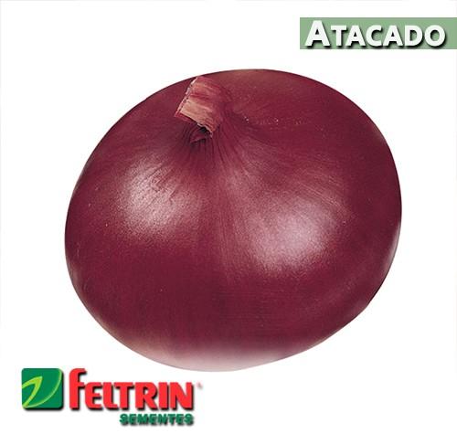 Sementes de Cebola Red Creole Chata Roxa - Atacado - Feltrin