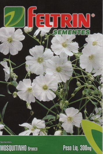 Sementes de Mosquitinho Branco - Feltrin