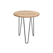 Mesa de Apoio 35 cm Antiqua com Hairpin Legs e Tampo 100% MDF