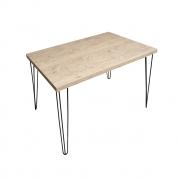 Mesa de Jantar Cânion com Hairpin Legs e Tampo 100% MDF (Não acompanham cadeiras)