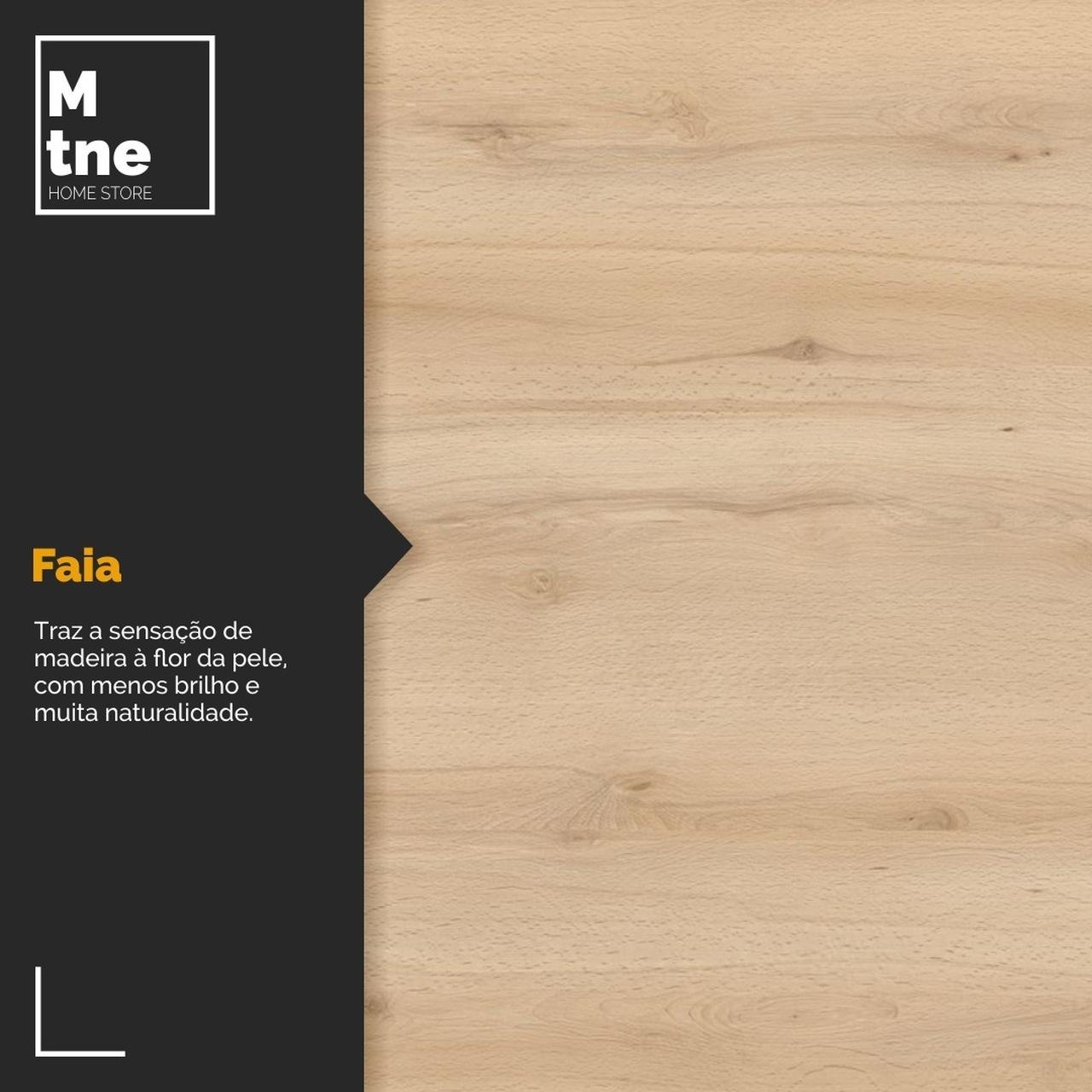 Banco Faia com Squared Legs e Tampo 100% MDF  - Mtne Store