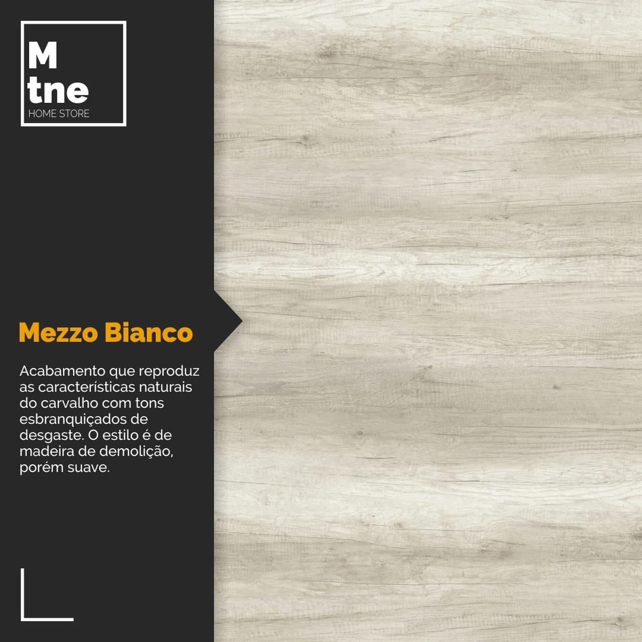 Banco Mezzo com Squared Legs e Tampo 100% MDF  - Mtne Store