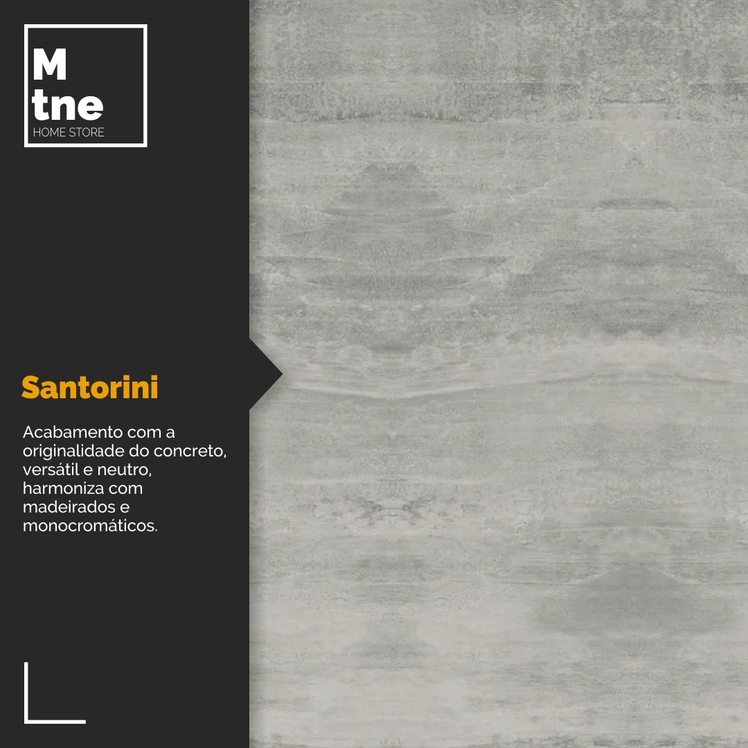 Banco Santorini com Hairpin Legs e Tampo 100% MDF  - Mtne Store