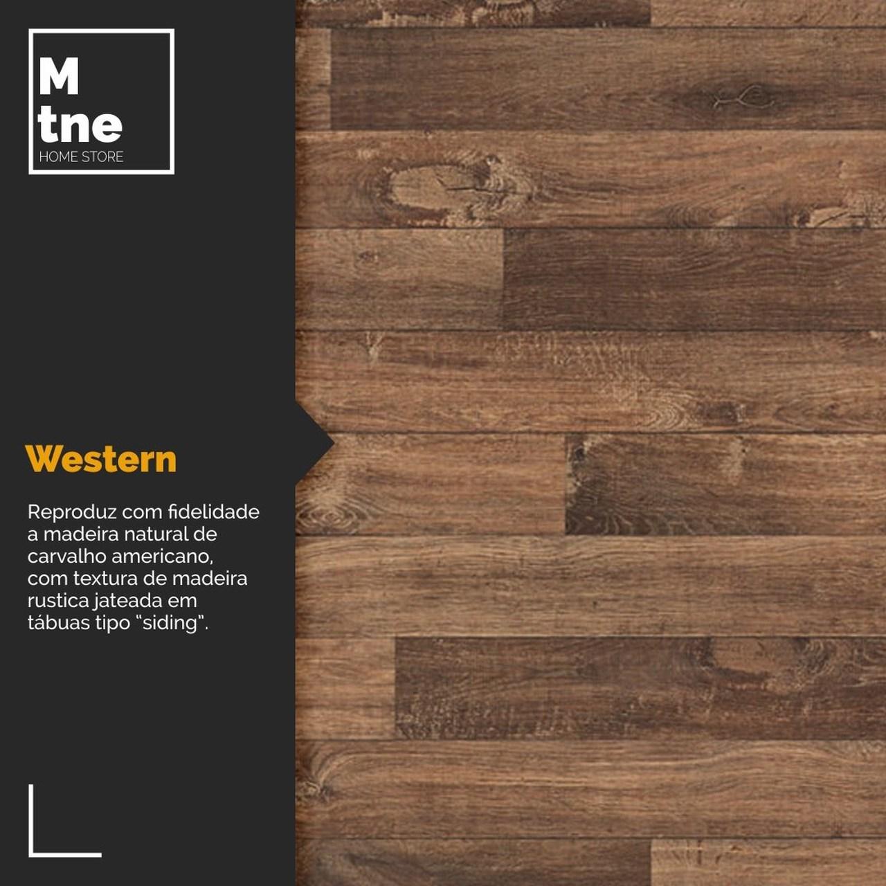 Banco Western com Squared Legs e Tampo 100% MDF  - Mtne Store