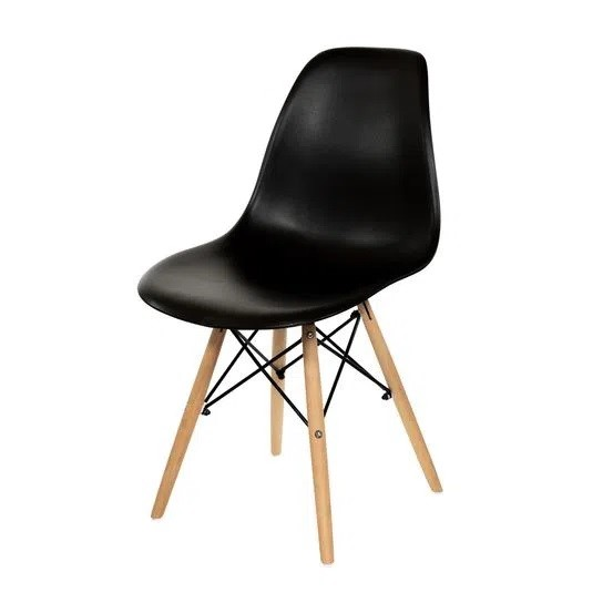 Cadeira Eames Eiffel DSW - Preta