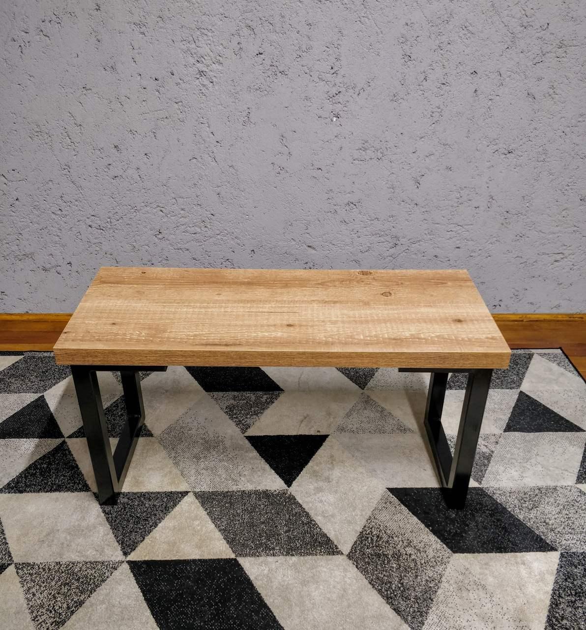 Conjunto Mesa Jantar 6 lugares com Banco e Banquinhos Antiqua com Squared Legs e Tampo 100% MDF  - Mtne Store