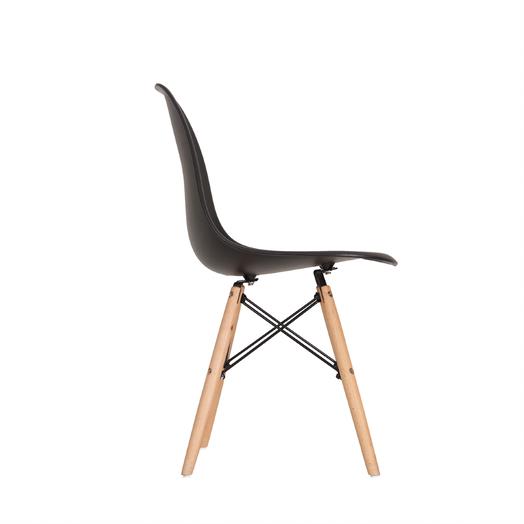 Kit 4 Cadeiras Eames Eiffel DSW - Preta  - Mtne Store