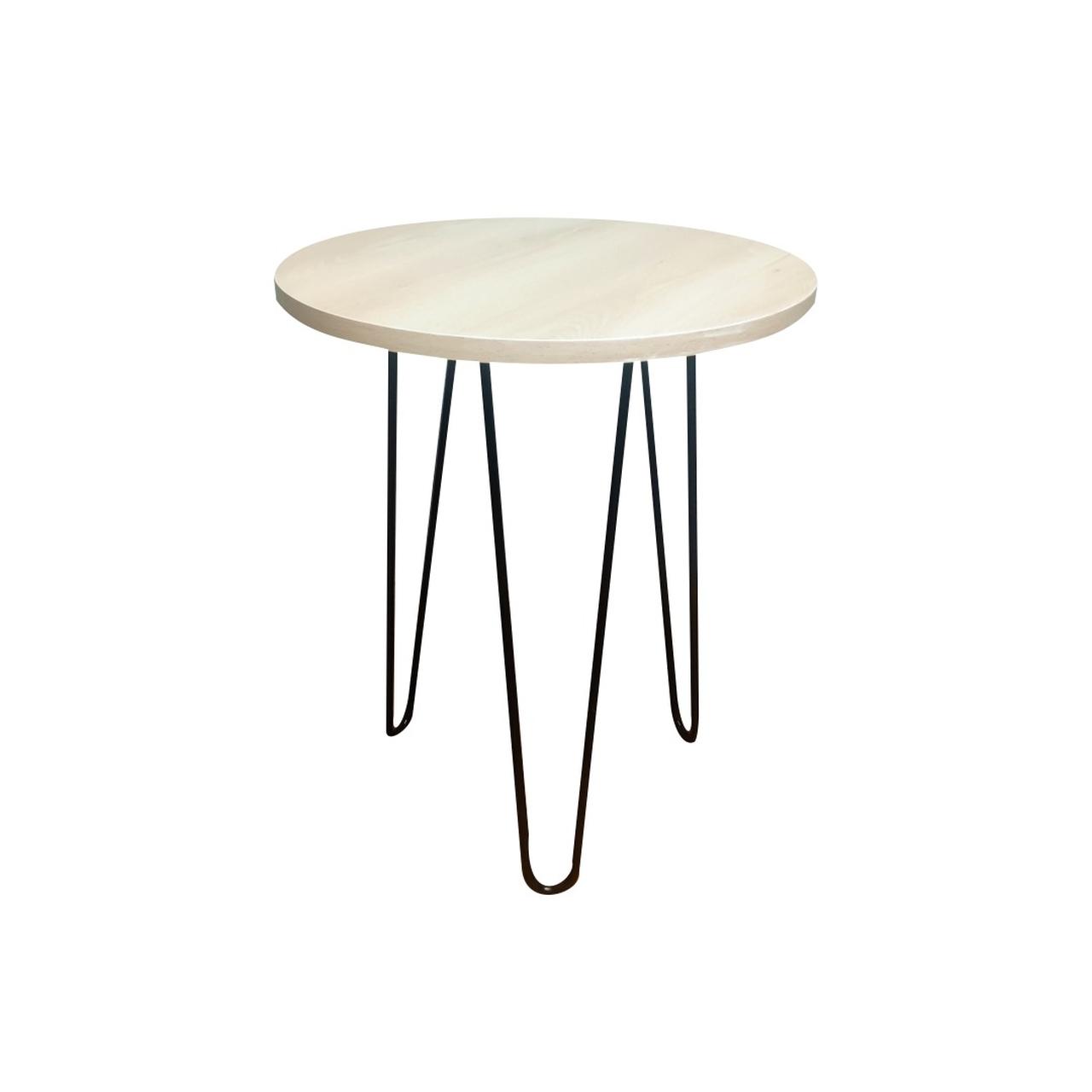 Mesa de Apoio 35 cm com Hairpin Legs e Tampo 100% MDF