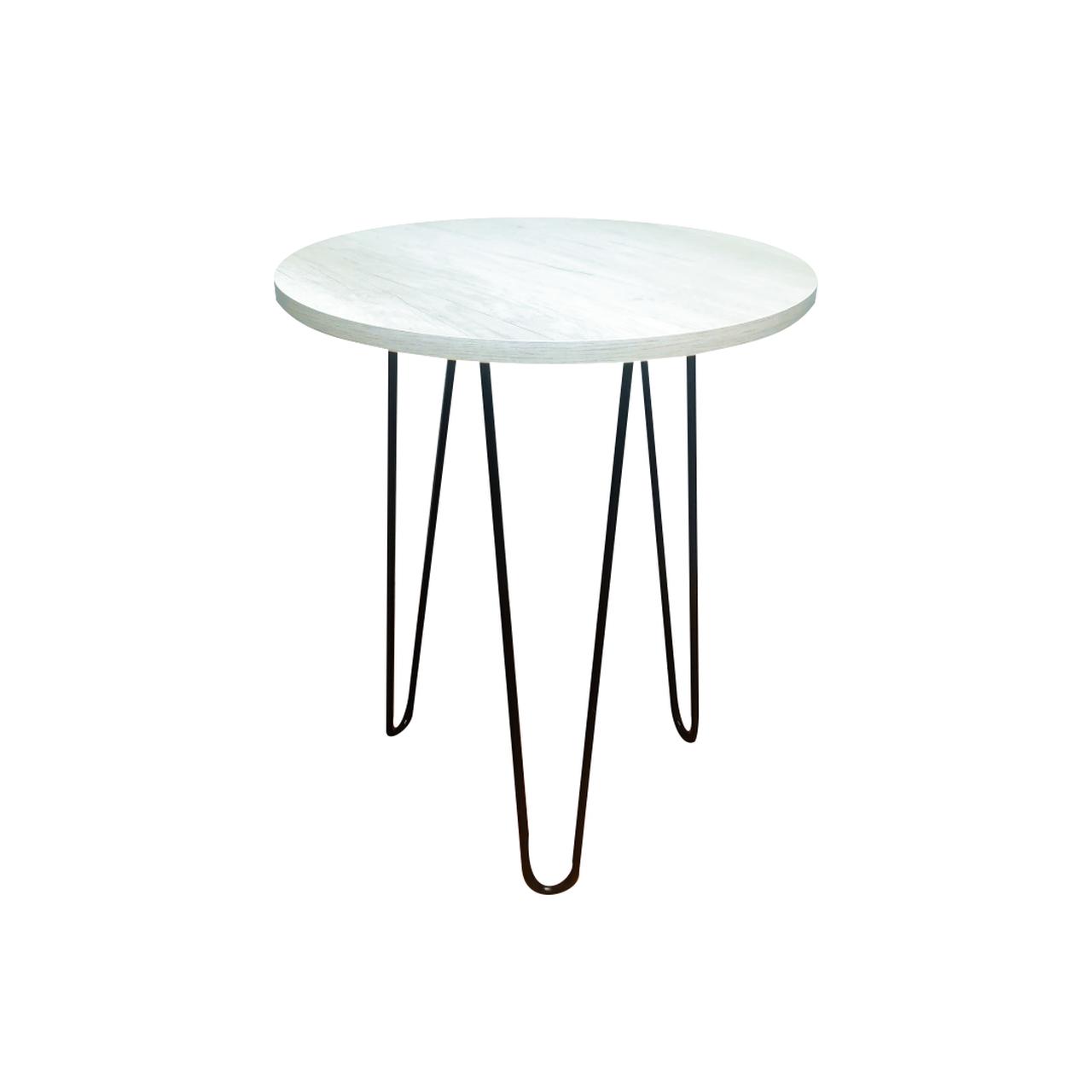 Mesa de Apoio 35 cm com Hairpin Legs e Tampo 100% MDF  - Mtne Store