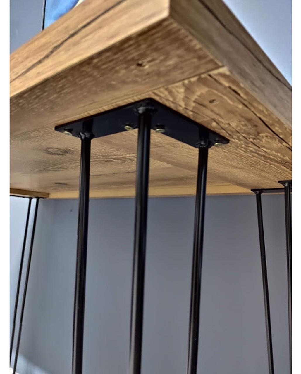 Mesa de Jantar Antiqua com Hairpin Legs e Tampo 100% MDF 30mm (Não acompanha cadeiras)  - Mtne Store