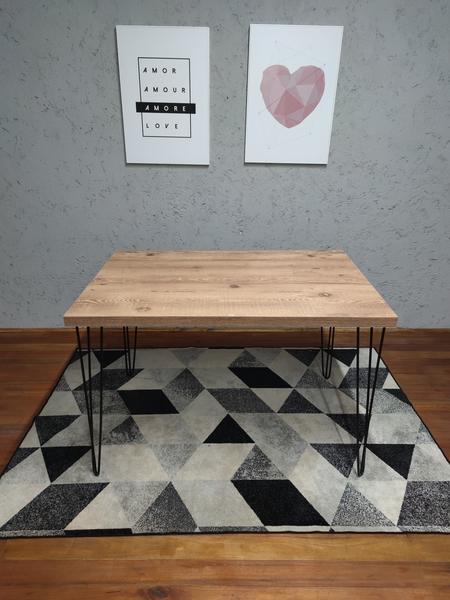 Mesa de Jantar Antiqua com Hairpin Legs e Tampo 100% MDF (Não acompanham cadeiras)
