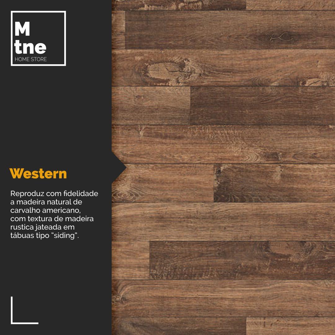 Mesa de Jantar e Banco Western com Squared Legs e Tampo 100% MDF  - Mtne Store