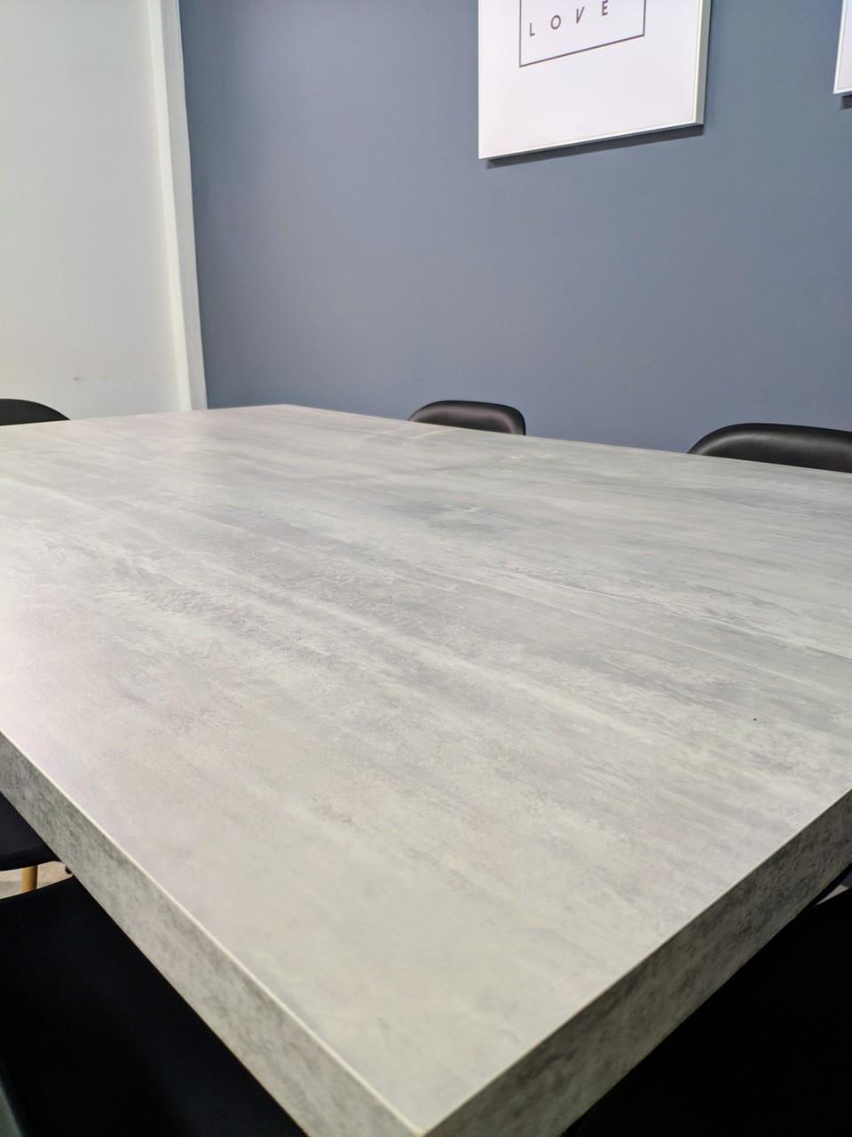 Mesa De Jantar STANDARD 90 cm x 140 cm Industrial Hairpin Legs - Tampo 100 % Mdf (Não acompanha cadeiras)  - Mtne Store