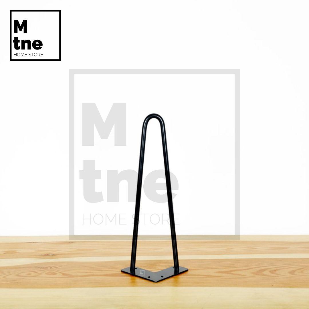 Pé Hairpin Leg Duplo (Pé Palito)  - Mtne Store