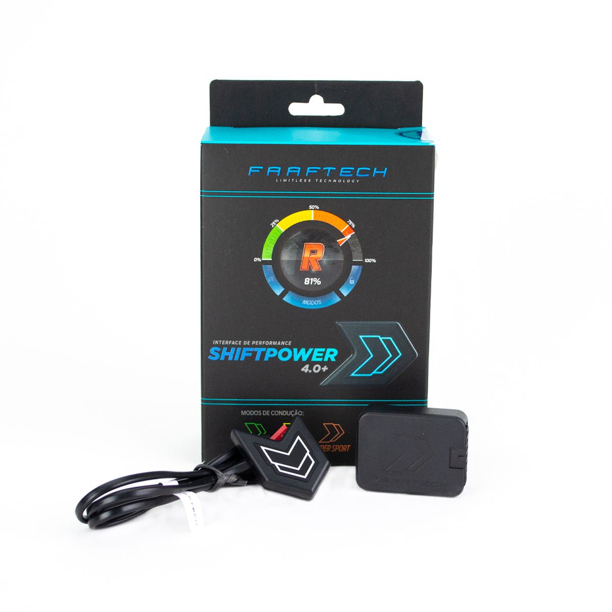 Chip de Pedal Shiftpower Para Chevrolet Tracker