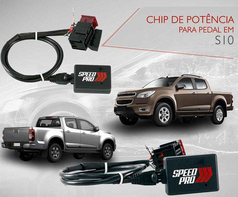 Chip De Potência Para Pedal Speedpro Para Chevrolet S10