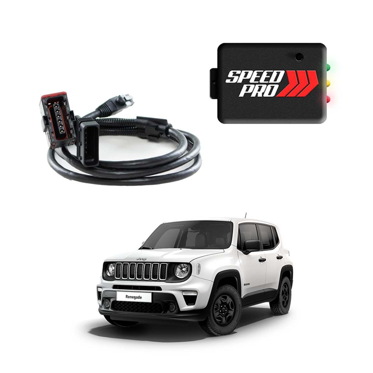 Chip De Potência Para Pedal Speedpro Para Jeep Renegade