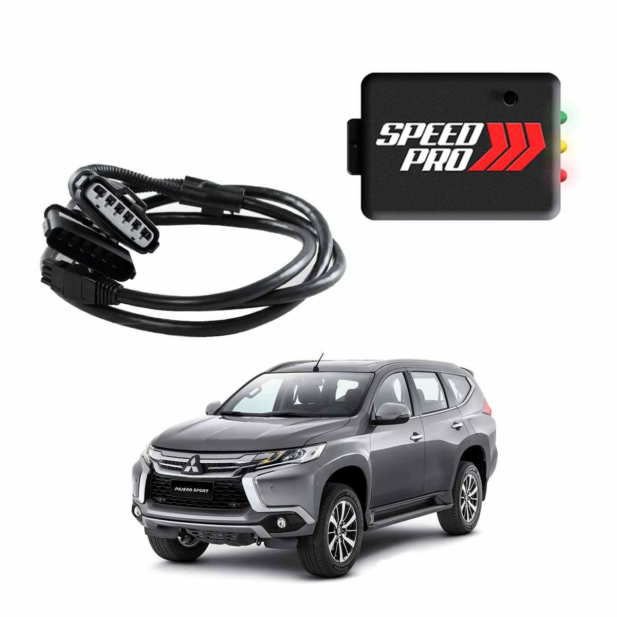 Chip De Potência Para Pedal Speedpro Para Mitsubishi Pajero Sport 2.4 Diesel