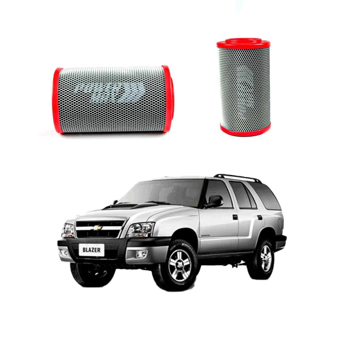 Filtro De Ar Esportivo Powermax Para Chevrolet Blazer