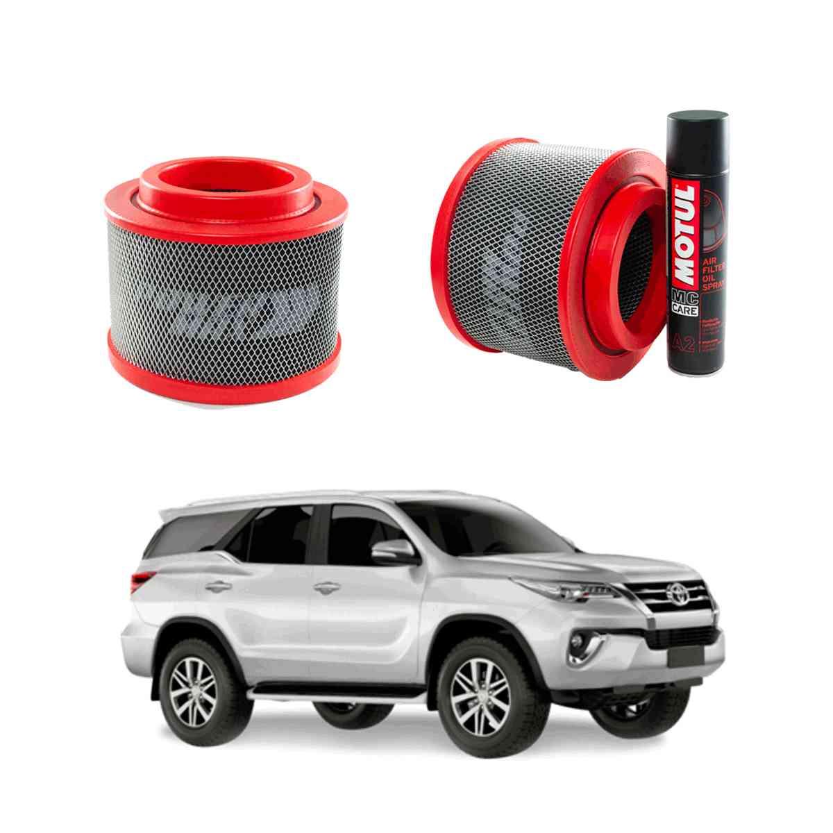 Filtro De Ar Esportivo Powermax Para Toyota Sw4 2.8