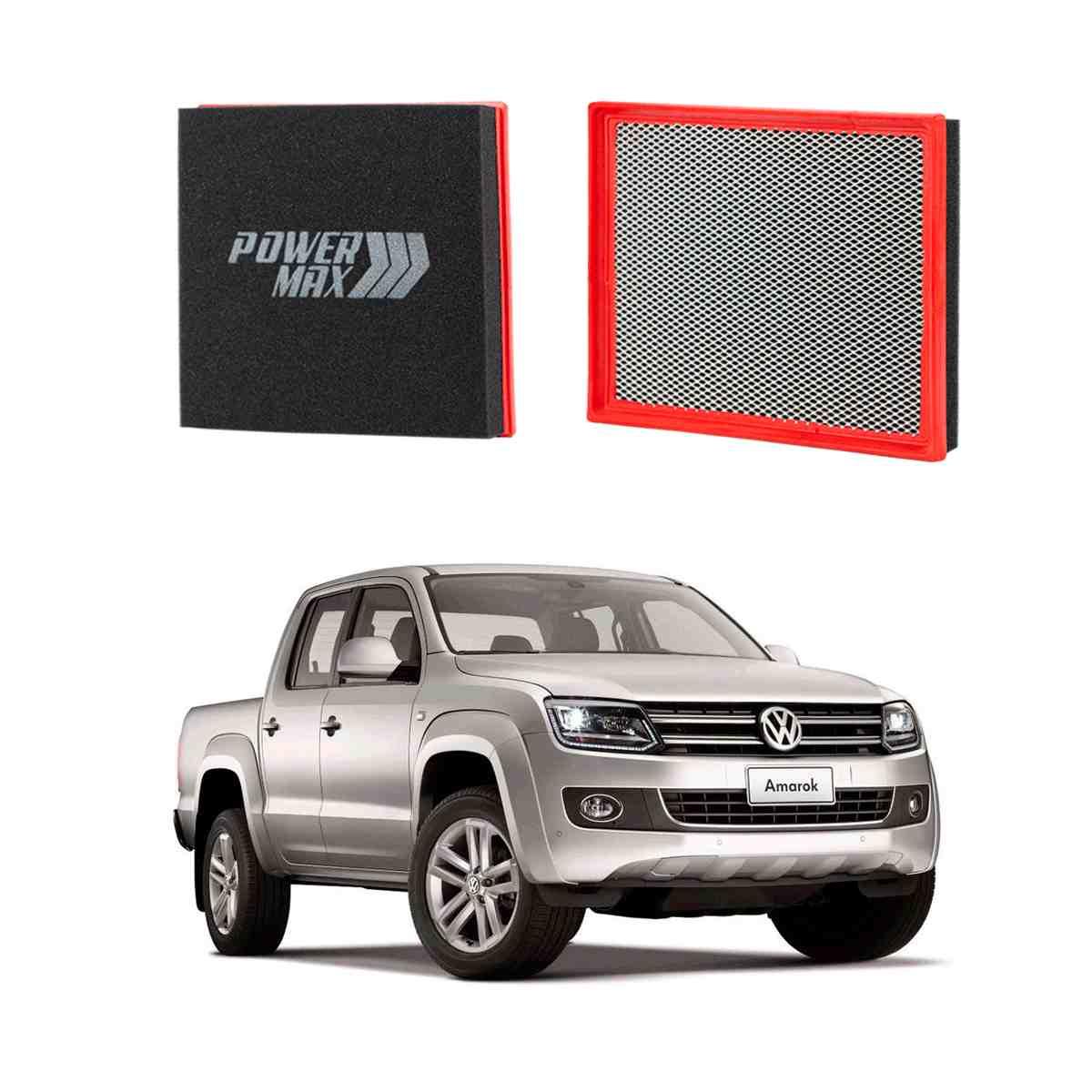 Filtro De Ar Esportivo Powermax Para Volkswagen Amarok
