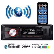 Radio Automotivo Roadstar RS2709BR AM/FM Bluetooth