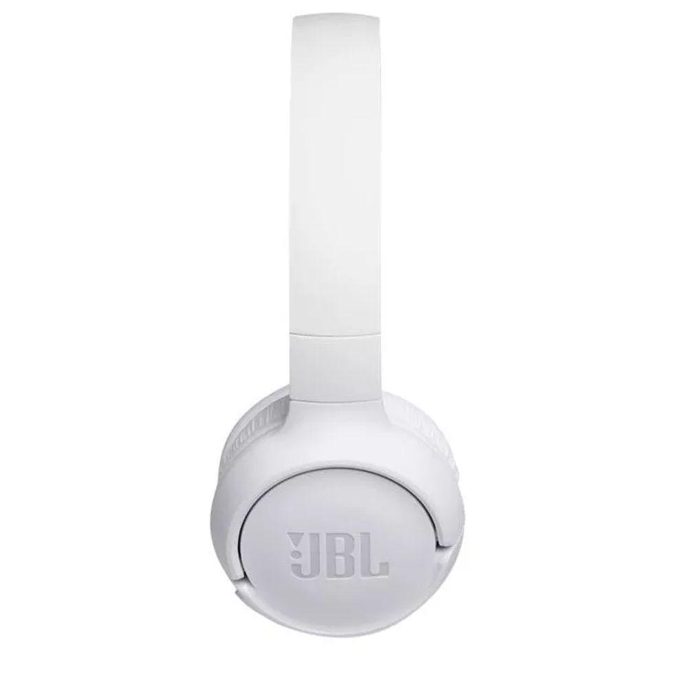FONE DE OUVIDO JBL SEM FIO COM MICROFONE T500BT BRANCO COM BLUETOOTH  - JPARTS BRASIL