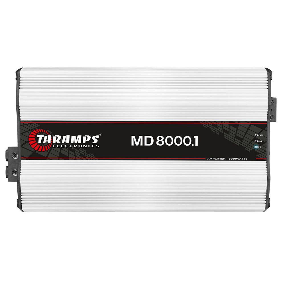 MODULO AMPLIFICADOR DIGITAL TARAMPS MD 8000 1 CANAL MONO 8000W RMS 2 OHMS   - JPARTS BRASIL