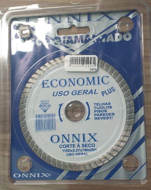 Disco diamantado Economic uso geral 110m