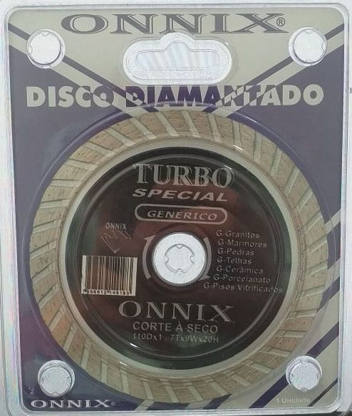 Disco Diamantado Turbo genérico