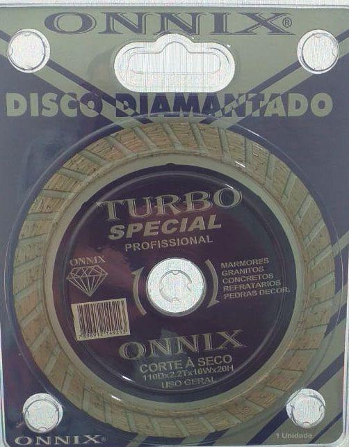 Disco Diamantado Turbo Profissional