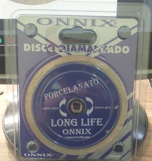 Disco para porcelanato Long life
