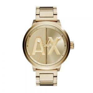 Relógio Masculino Armani Exchange ax13634dn dourado.