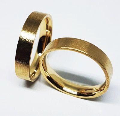 Par de Alianças de Ouro 18k Cuiabá