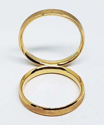 Par de Alianças de Ouro 18k São Luis