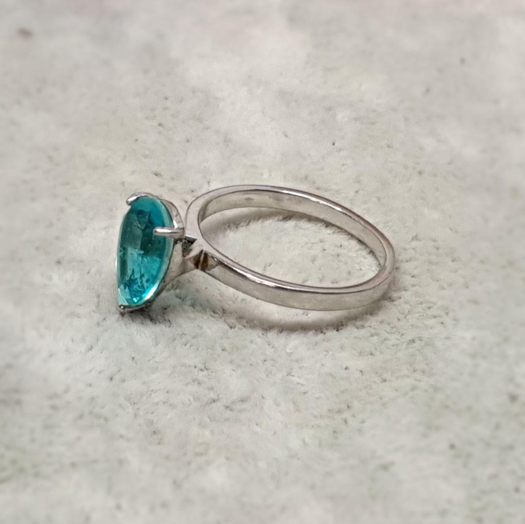 Anel de prata gotinha fusion  70523/508