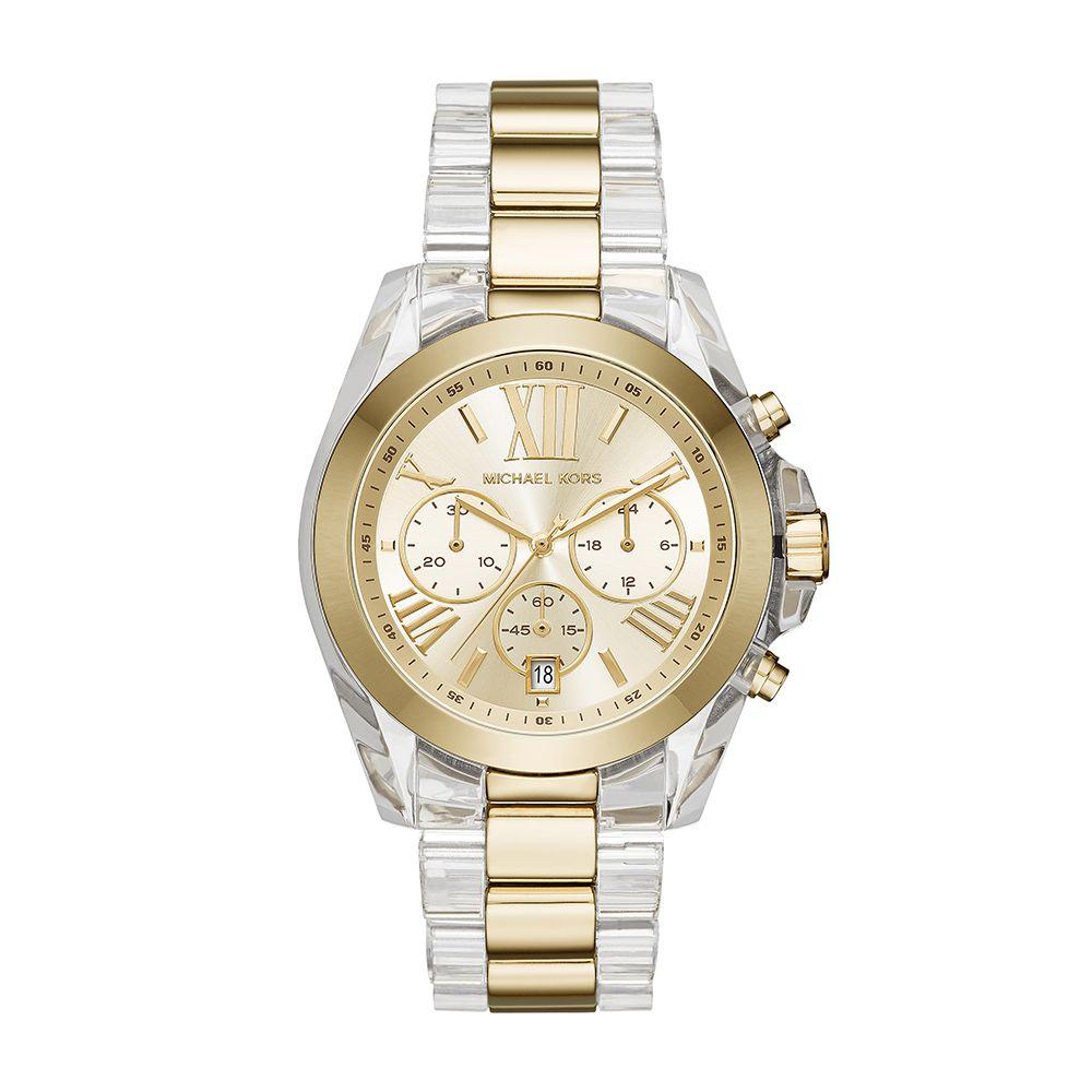 Relógio Feminino Michael Kors MK63195DN Dourado e transparente