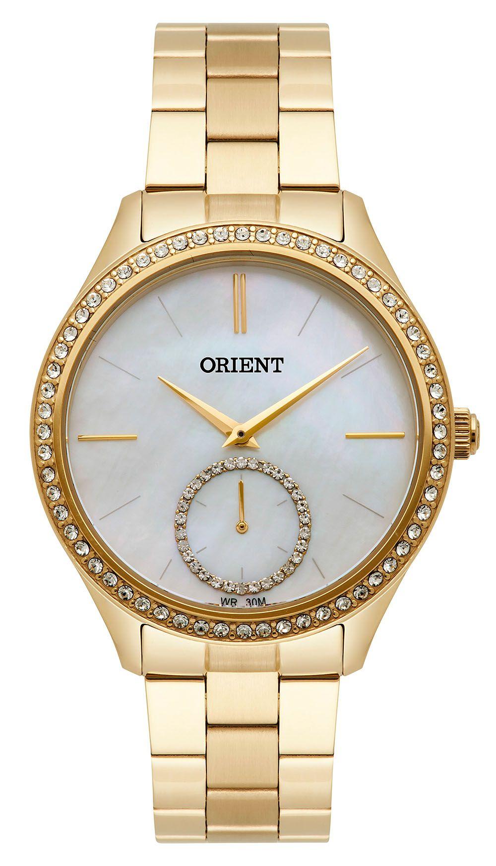 d44d99e30ab Relógio Orient Feminino FGSS0104-B1KX Dourado - PATRICIA JOIAS