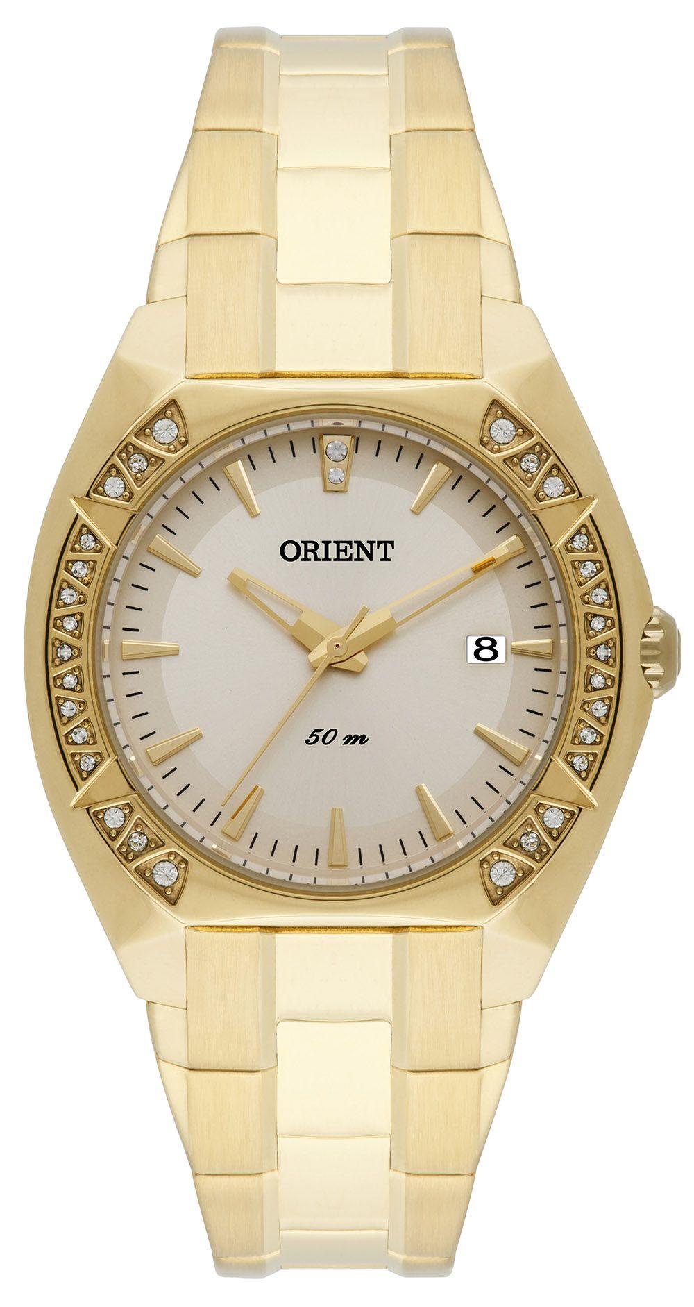 Relógio Feminino Casual Dourado FGSS1111-C1KX Orient