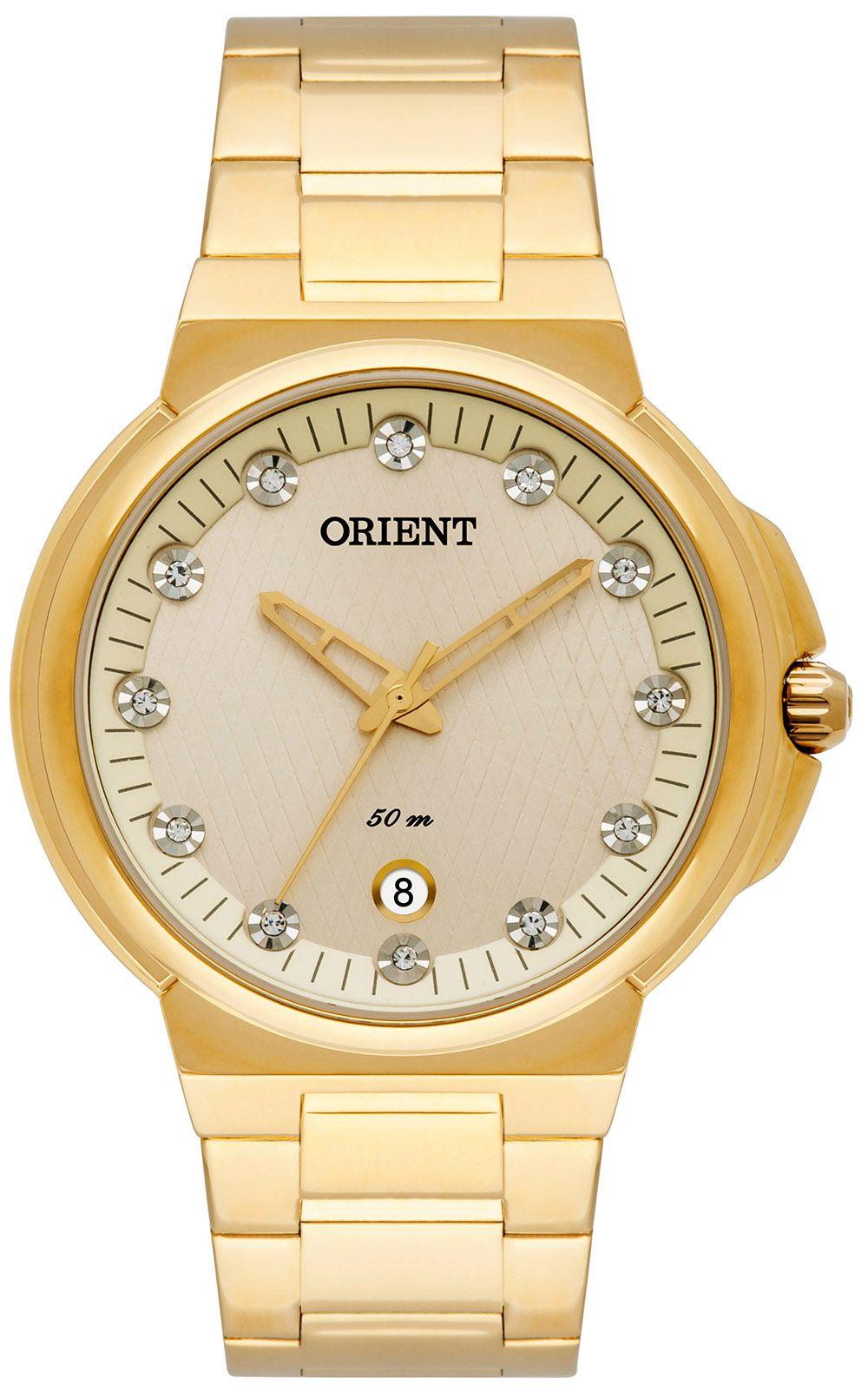 9bfc3e8bbf8 Relógio Orient Feminino FGSS1129-C1KX Dourado - PATRICIA JOIAS