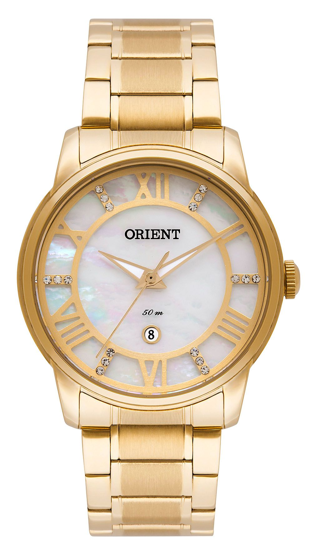 Relógio Feminino Casual Dourado FGSS1148-B3KX Orient
