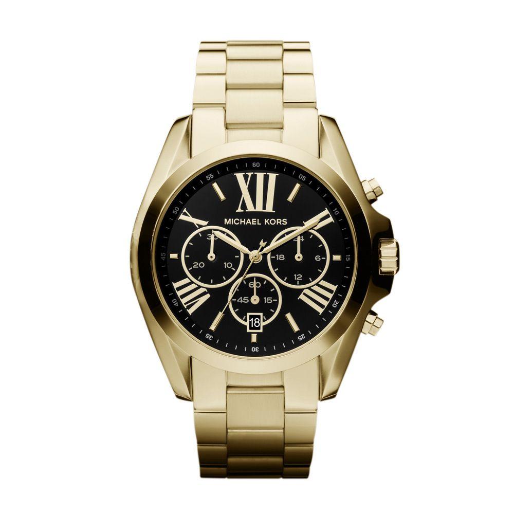 Relógio Michael Kors Feminino MK57394PN Dourado