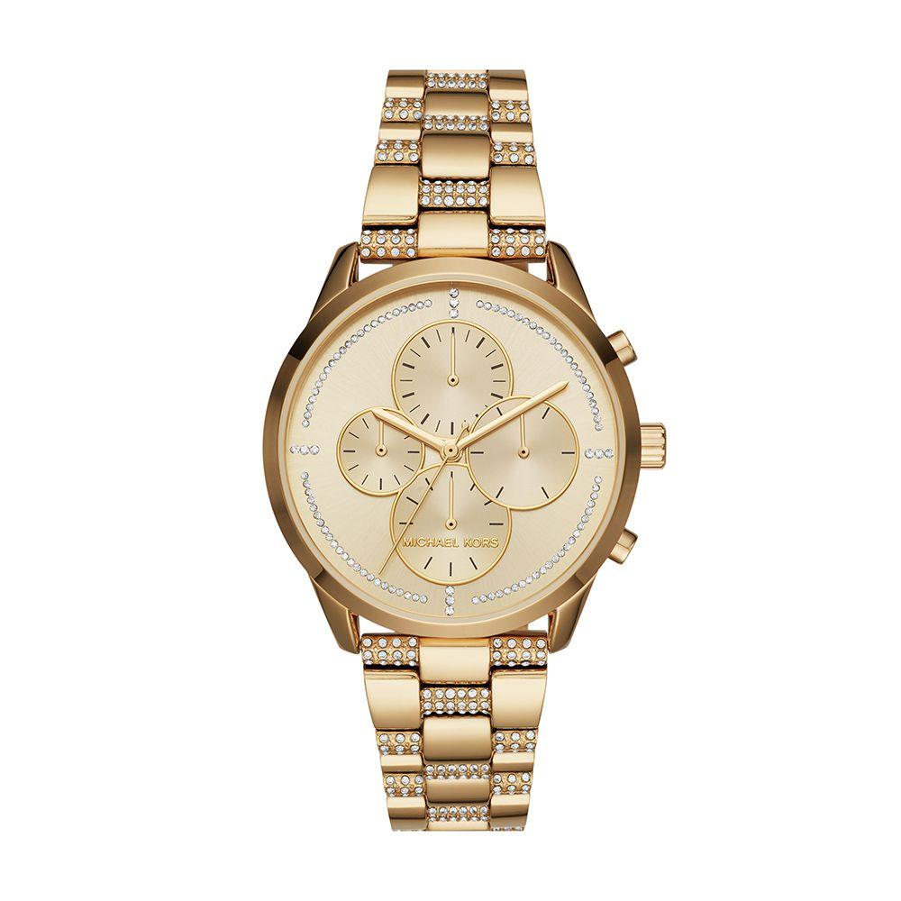 Relógio Feminino Casual Dourado MK65195DN Michael Kors
