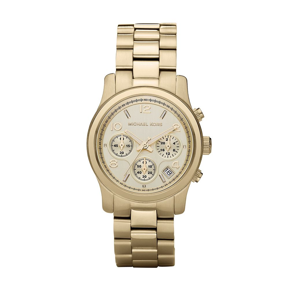 638b06ded18fd Relógio Michael Kors Feminino OMK5055Z Dourado - PATRICIA JOIAS