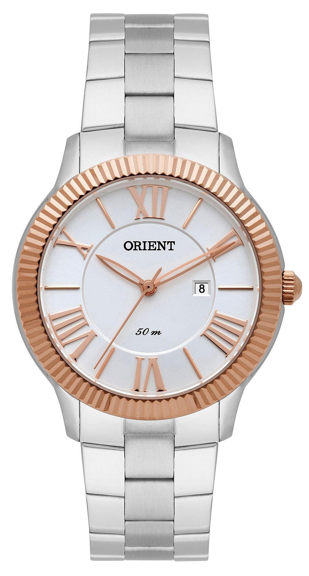 Relógio Feminino Casual Prata FTSS1108-S3SX Orient
