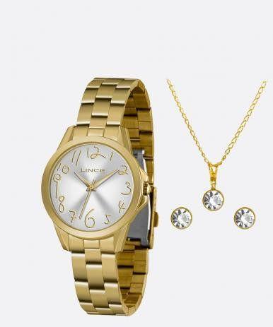 Relógio feminino Lince LRGH124L KX34