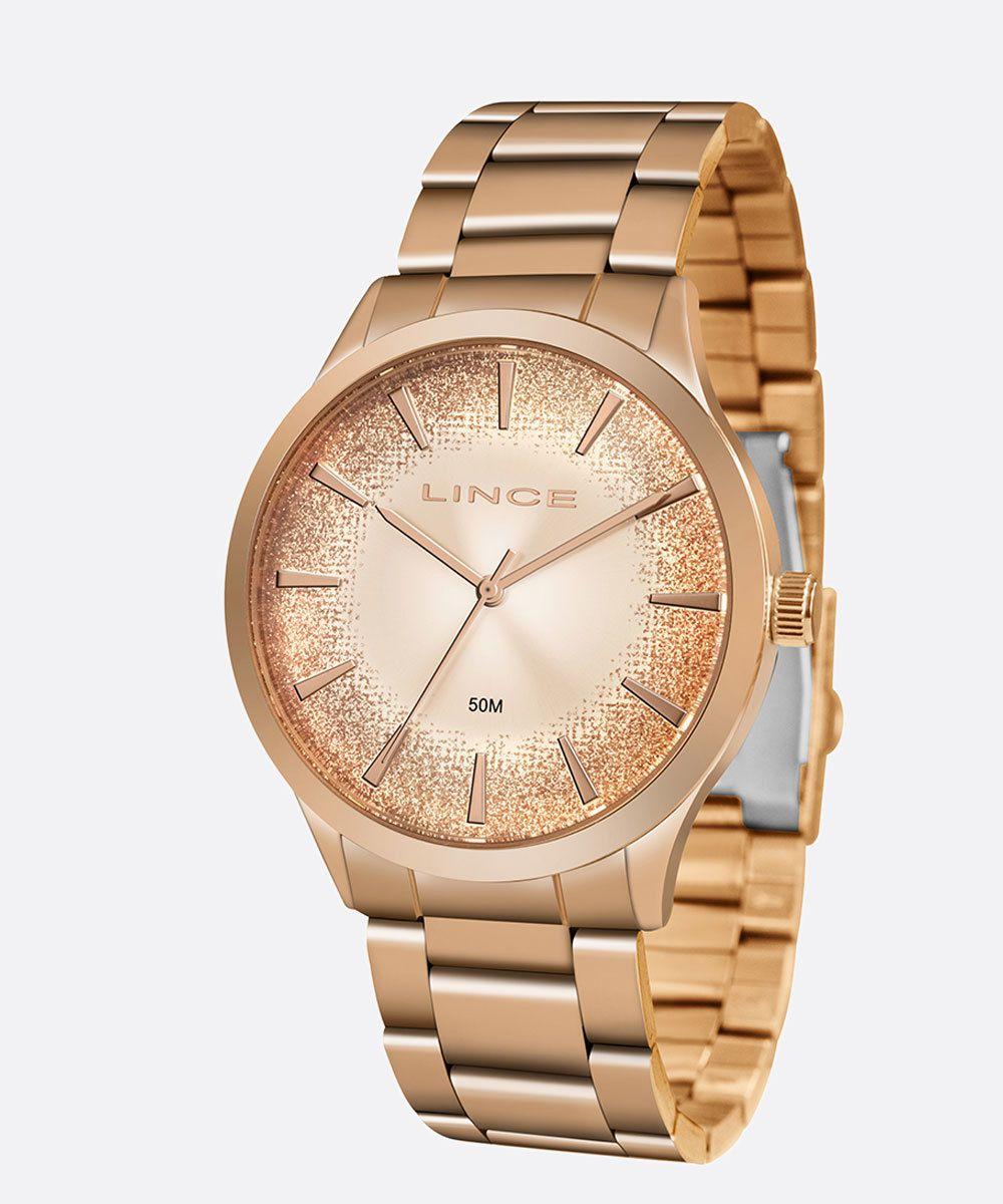 Relógio feminino Lince LRR4593L R1RX