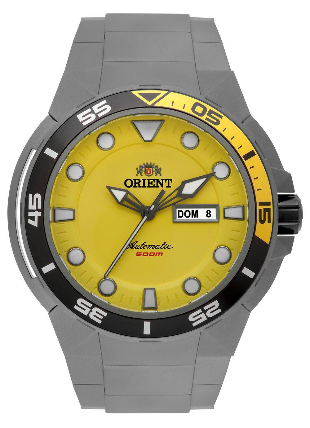 Relógio Masculino Casual Cinza 469TI003-Y1GS Orient