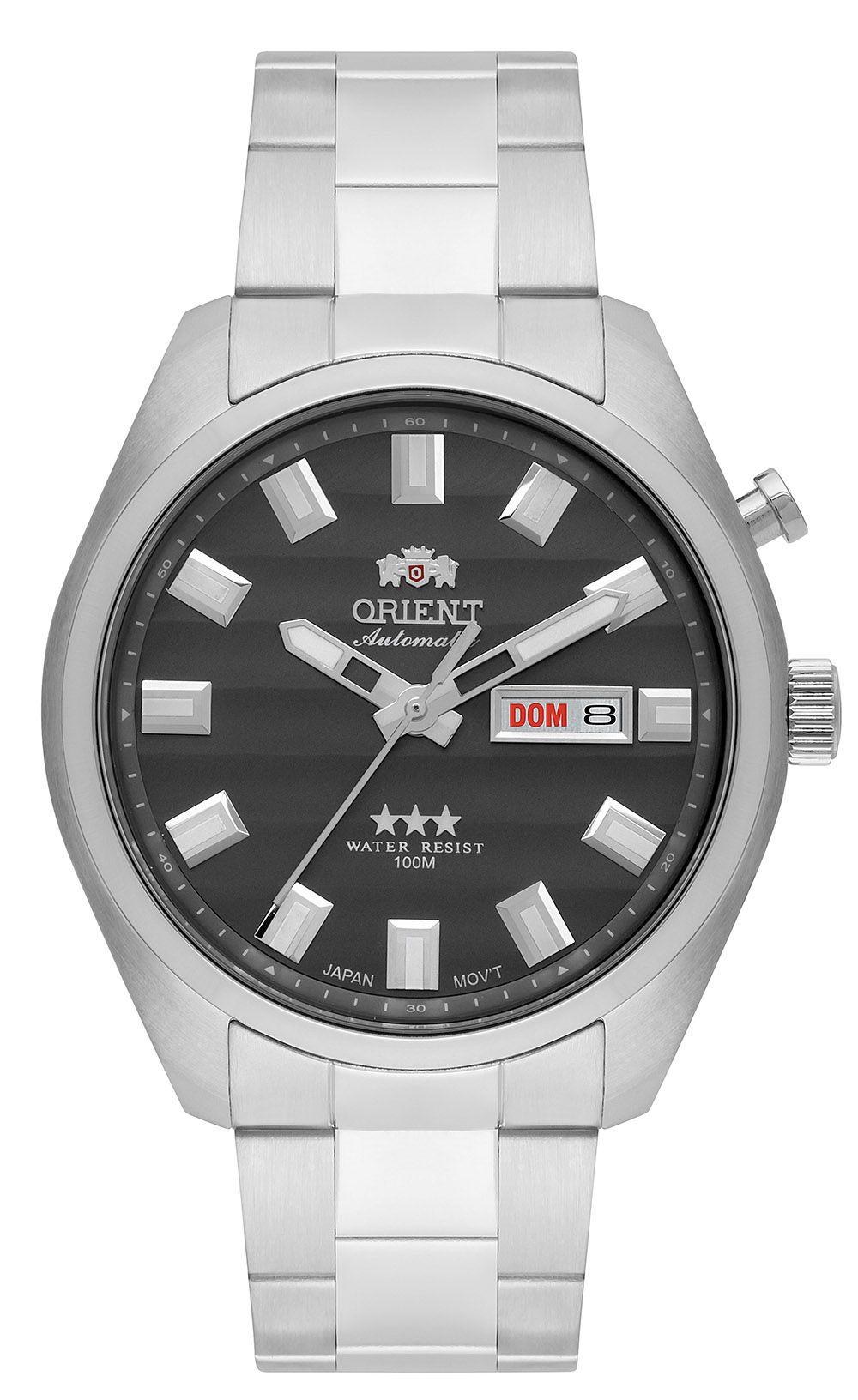 Relógio Orient Masculino 469SS076-G1SX Prata