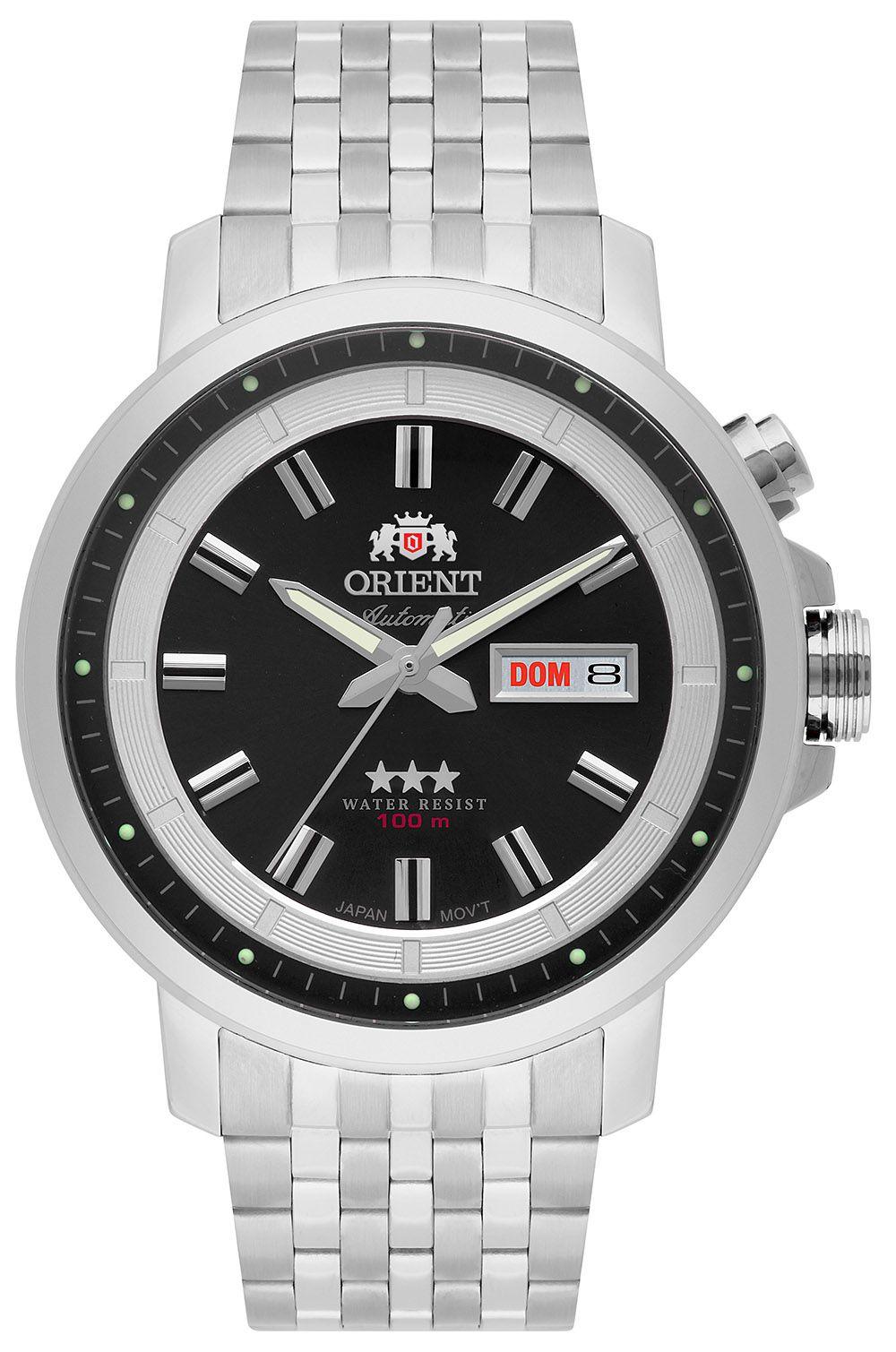 Relógio Masculino Casual Prata 469SS079-P1SX Orient